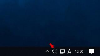 音量アイコンが反応しない場合の対処法(Windows 10)